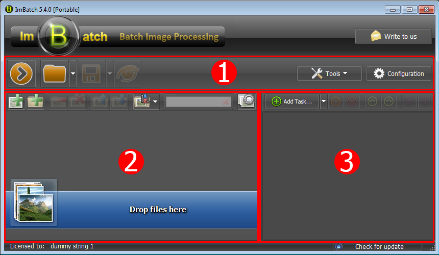 ImBatch interface